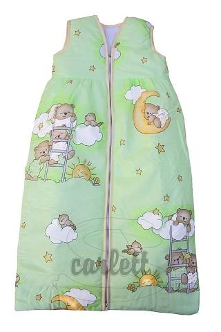 Dětský spací pytel Mráček zelený Scarlett