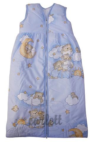 Dětský spací pytel Mráček modrý Scarlett