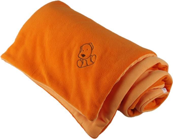 Fotografie Zateplená dětská deka oranžová Kaarsgaren