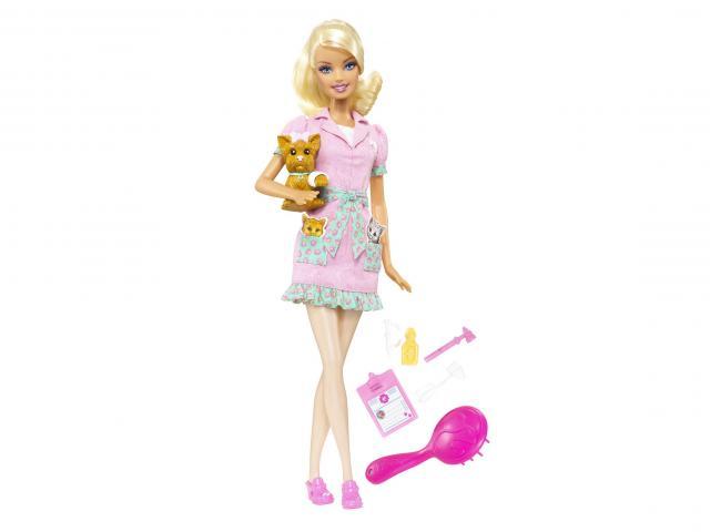 Barbie panenka veterinářka