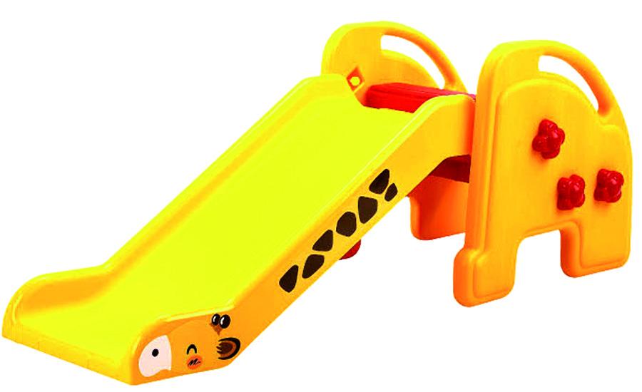 Scarlett plastová skluzavka Žirafa žlutá